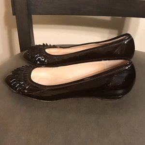 Authentic Leoffler Randall patent leather flats 7